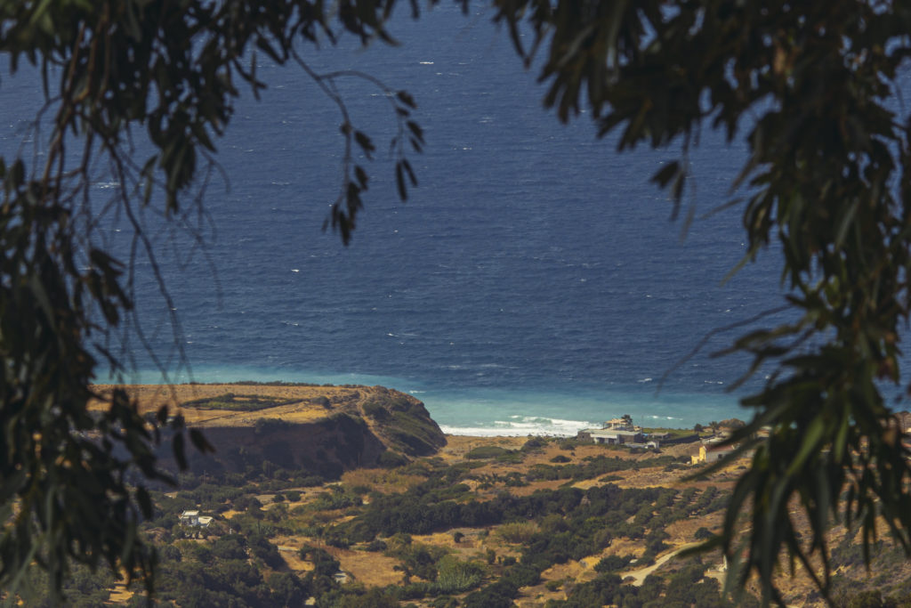 Beach Agios Nikolaos, Crete island